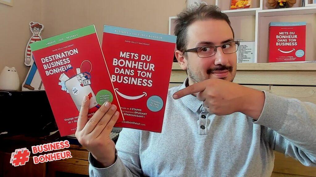 """Retrouve la série de livres """"Business Bonheur"""" sur www.businessbonheur.com/livres"""